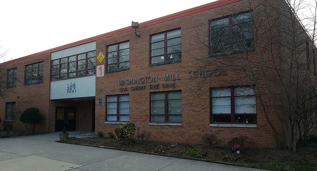 Washington Mill Elementary's exterior
