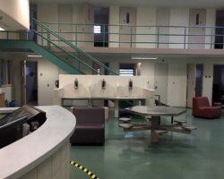 Interior of jail