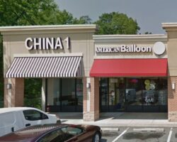 Google maps image showing the front of China 1 and American Balloon