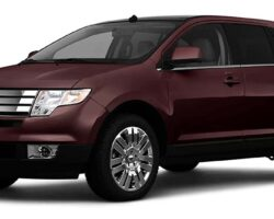 Stock photo of a Ford Edge